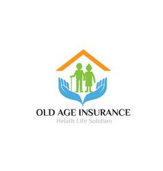 Home care parents logo designs simple modern vector