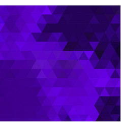 low poly colorful purple triangles vector image