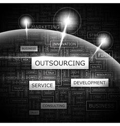 OUTSOURCING vector