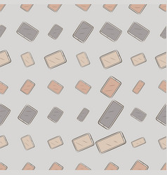 Seamless background or backdrop handphone or vector