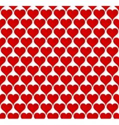 valentine hearts seamless wallpaper vector image