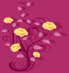 Flourishes-4 vector image vector image