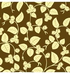 hazelnut seamless background vector image