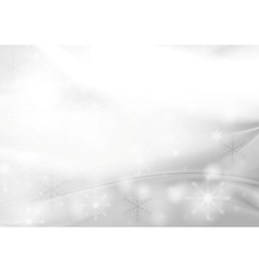 Shiny grey pearl Christmas background vector image