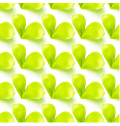 seamless sprout leaves vector image vector image