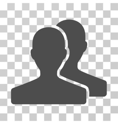 Customers icon vector