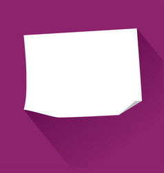 sticky paper note vector image vector image