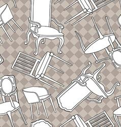 Armchairs vector