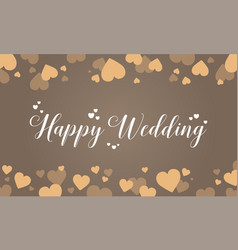 Design wedding grapic art vector