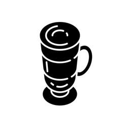 frappe black glyph icon vector image