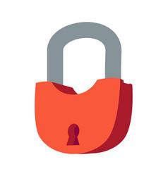 lock isometric icon isolated vector image