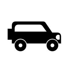 safari van isolated icon vector image