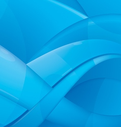 aqua abstract background vector image vector image