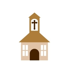 church religion christianity icon vector image