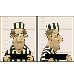 offender vector image