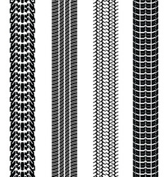 prints of tire cars vector image