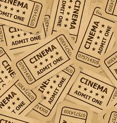 ticket cinema icon 02 03 vector image