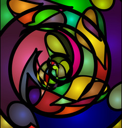 Abstract ornament image vector