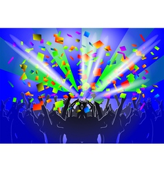 crowd vector image
