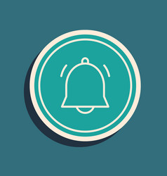 Green circle button and chat notification icon vector