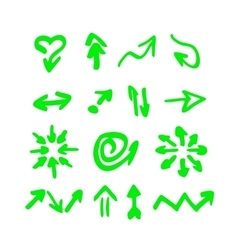 highlighter elements vector image