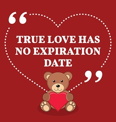 Inspirational love marriage quote True love has no vector