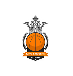 Kings basketball vector