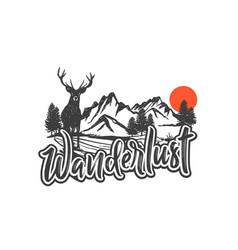 Wanderlust 2 vector