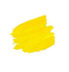 yellow blob isolated vector image