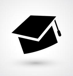 graduate hat icon vector image vector image