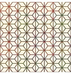 seamless geometric lines pattern vector image vector image