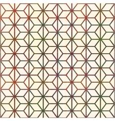 Seamless geometric lines pattern vector