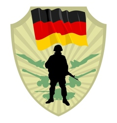 Army of Germany vector image