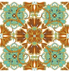 Beautiful seamless ornamental tile background vector
