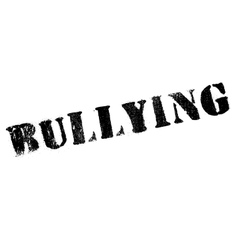 Bullying rubber stamp vector