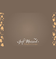 Collection stock wedding romantic style vector