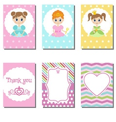 Cute cards vector