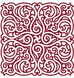Detailed Oriental Design Element vector