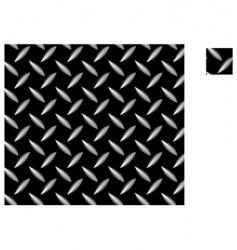 metal seamless pattern vector image vector image