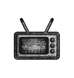 old televisions logo design inspiration vector image