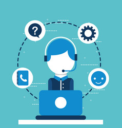 People customer service vector