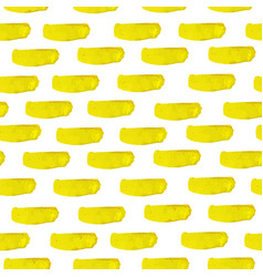 yellowl watercolor seamless pattern vector image
