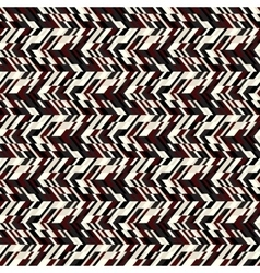 Abstract techno chevron pattern vector image vector image