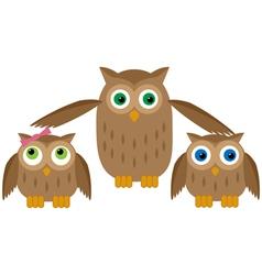 Mom Owl vector image