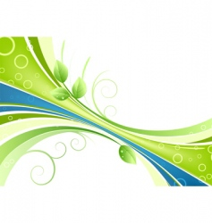 fresh background vector image