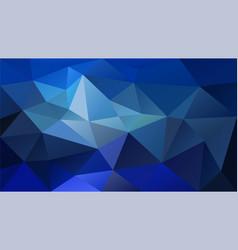 Abstract irregular polygonal background vector