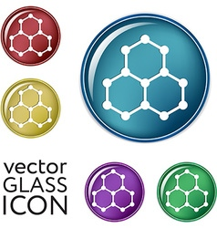 Chemical compound Symbol chemistry Icon science vector image