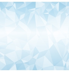 Geometric blue mosaic background vector image