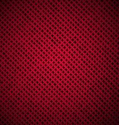 red dark texture cloth vector image