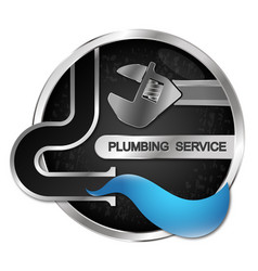 Repair and cleaning plumbing water pipes vector
